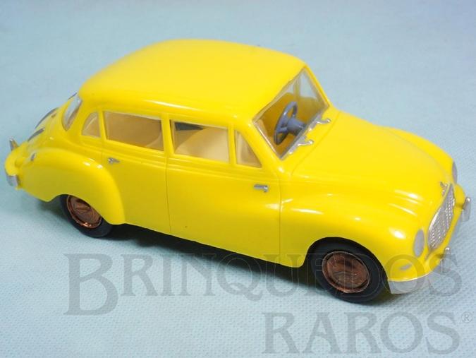 Brinquedo antigo DKW Vemag Sedan com 17,00 cm de comprimento Montada de fábrica Década de 1970