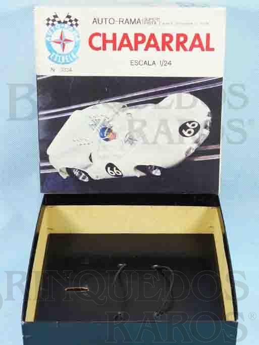 Brinquedo antigo Estrela Caixa Autorama Chaparral Escala 1:24 Ano 1968