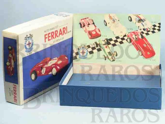 Brinquedo antigo Estrela Caixa Autorama Ferrari 330/P2 Escala 1:24 Ano 1968