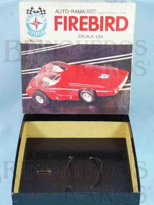 Brinquedo antigo Estrela Caixa Autorama Firebird Escala 1:24 Ano 1968
