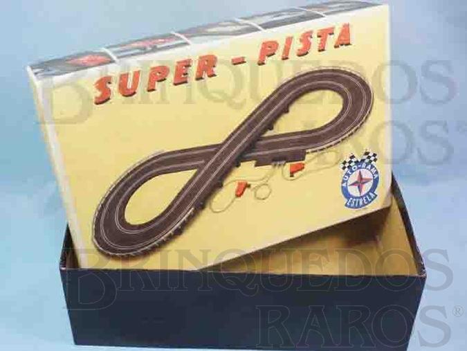 Brinquedo antigo Estrela Caixa Autorama Super-Pista Ano 1966