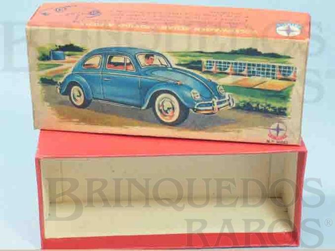 Brinquedo antigo Estrela Caixa Volkswagen Sedan Ano 1960