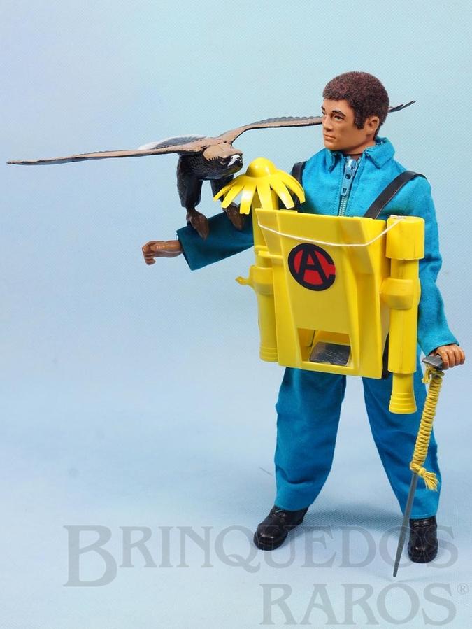 Brinquedo antigo Falcon Aventura Ataque da Águia Selvagem Escalada com o Lança Gancho 100% original completo com Águia e mais 4 itens Edição 1978 Preço sem o Boneco
