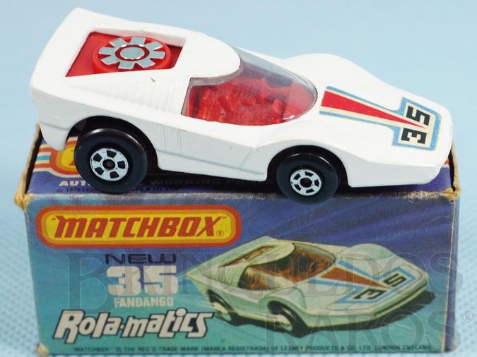 Brinquedo antigo Fandango Superfast Rola-Matics