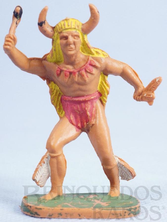 Brinquedo antigo Feiticeiro da tribo Gulliver Década de 1970