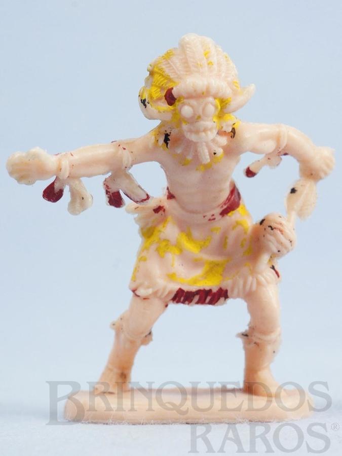 Brinquedo antigo Feiticeiro de Tribo Distribuído pela Trol e pela Viocena Década de 1970