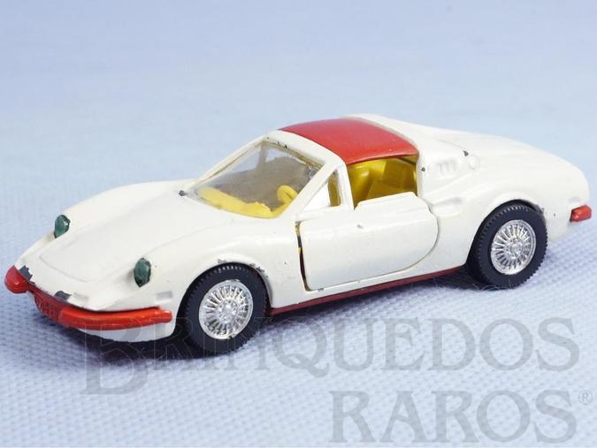 Brinquedo antigo Ferrari 246 GTS Norev brésilienne Década de 1970