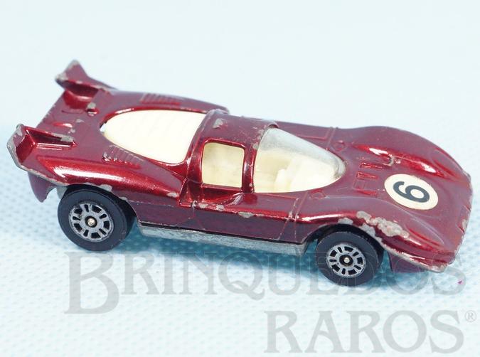 Brinquedo antigo Ferrari 512S Corgi Jr Whizzwheels