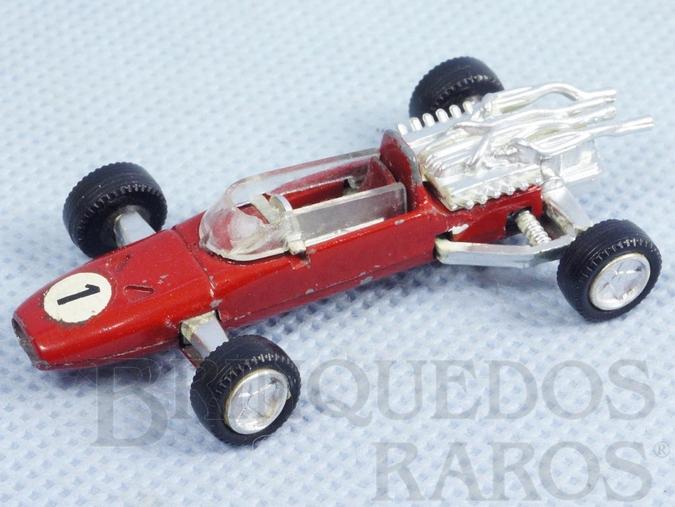 Brinquedo antigo Ferrari Formula 2 com 6,00 cm de comprimento Década de 1970