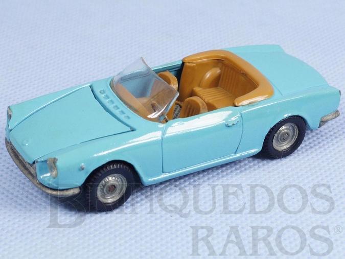 Brinquedo antigo Fiat 124 Sport Politoys Década de 1970