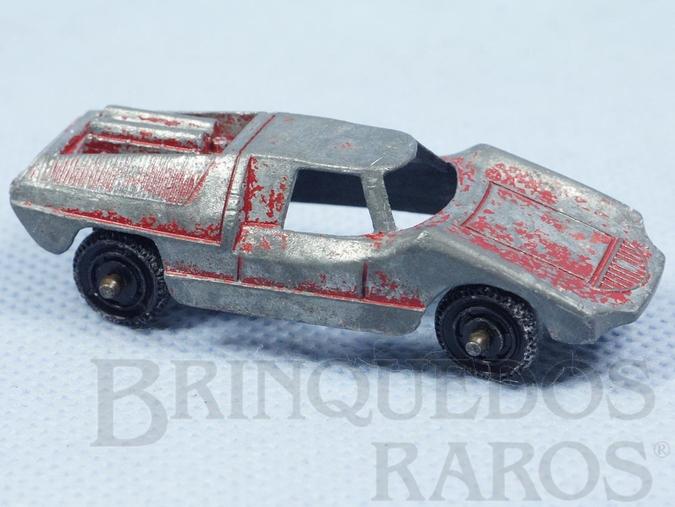 Brinquedo antigo Fiat Abarth com 6,00 cm de comprimento Década de 1960
