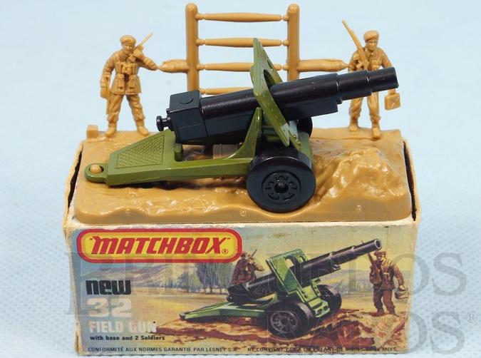 Brinquedo antigo Field Gun Superfast