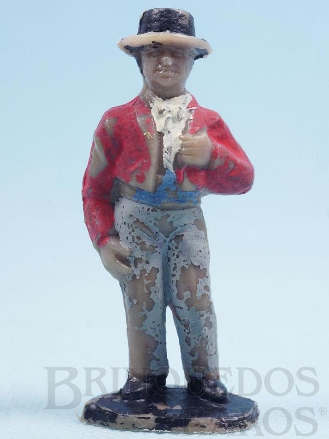 Brinquedo antigo Figura do Bernardo Primeira Série O Zorro
