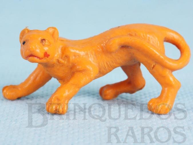 Brinquedo antigo Filhote de Leão Série Zoológico Década de 1960