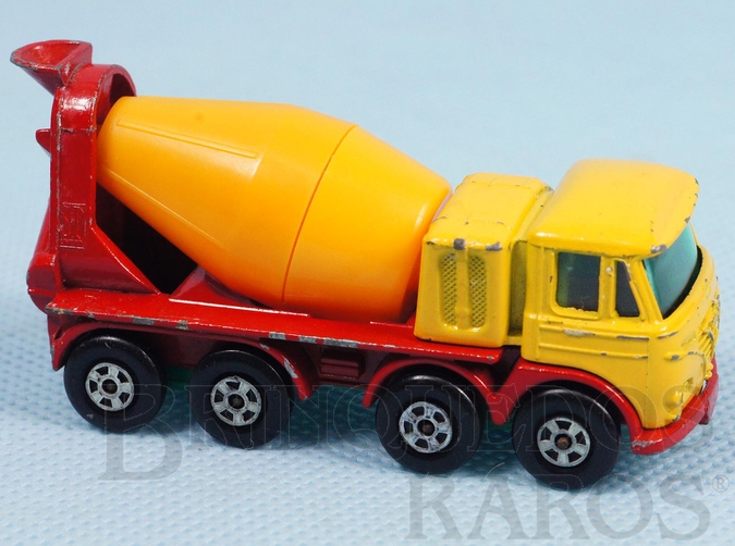 Brinquedo antigo Foden Concrete Truck Superfast Transitional Weels