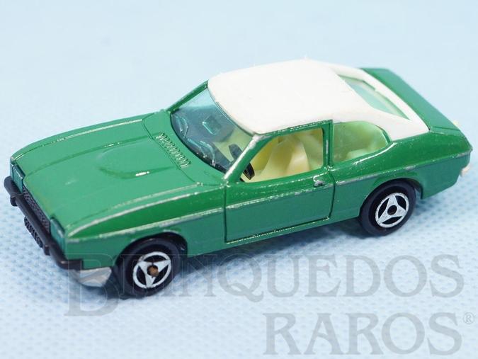 Brinquedo antigo Ford Capri Majorette Brésilien Kiko Década de 1980
