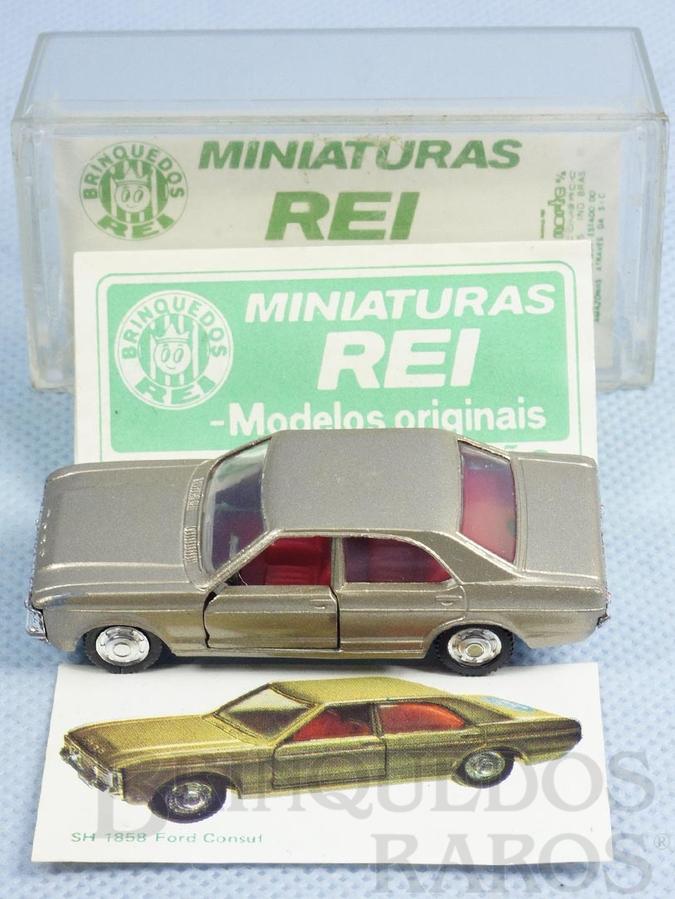 Brinquedo antigo Ford Consul Schuco Modell Brasilianische Schuco Rei completo com Catálogo e Cromo