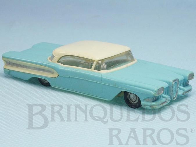 Brinquedo antigo Ford Edsel com 9,50 cm de comprimento Década de 1960
