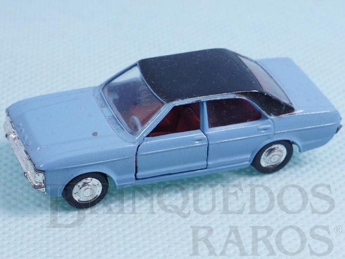 Brinquedo antigo Ford Granada azul claro Schuco Modell Brasilianische Schuco Rei