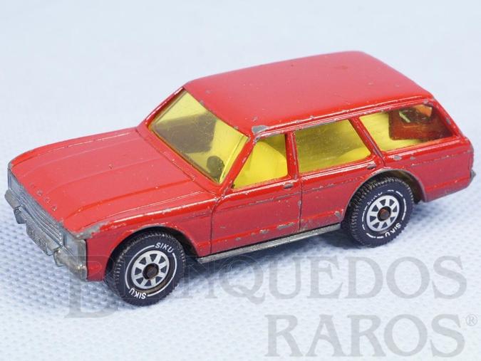 Brinquedo antigo Ford Granada Turnier vermelho Brasilianische Siku Alfema