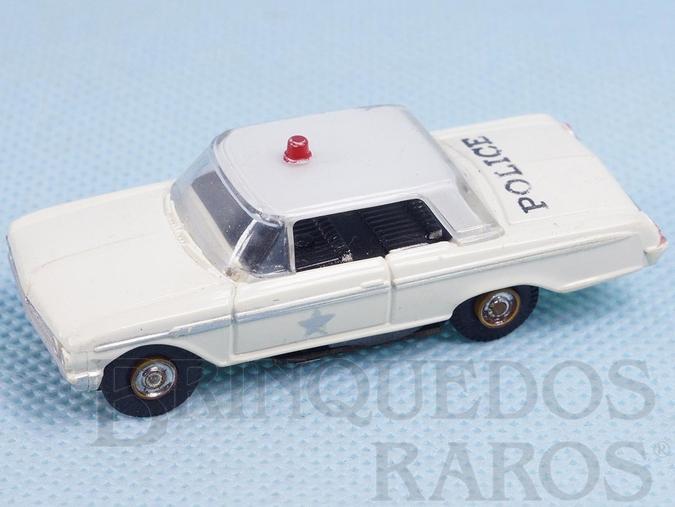 Brinquedo antigo Ford Police Car Série Vibrator Motor Ano 1959
