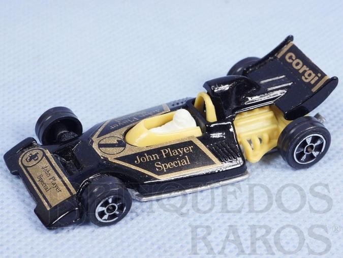 Brinquedo antigo Formula One Racer Brazilian Corgi Jr Kiko Década de 1980