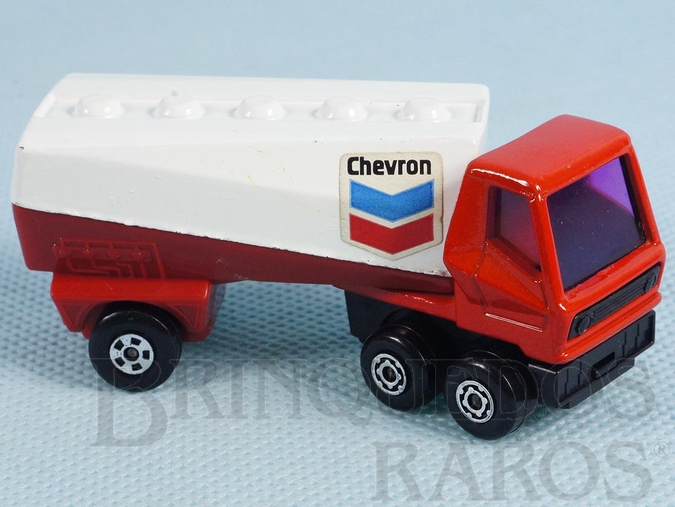 Brinquedo antigo Freeway Gas Tanker Superfast Chevron