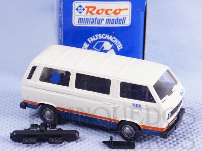 Brinquedo antigo Furgão Volkswagen TYP 2 NDR Década de 1980