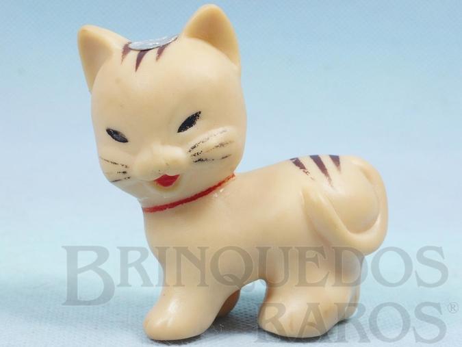 Brinquedo antigo Gatinho Susi com Apito 8,00 cm de altura Ano 1957