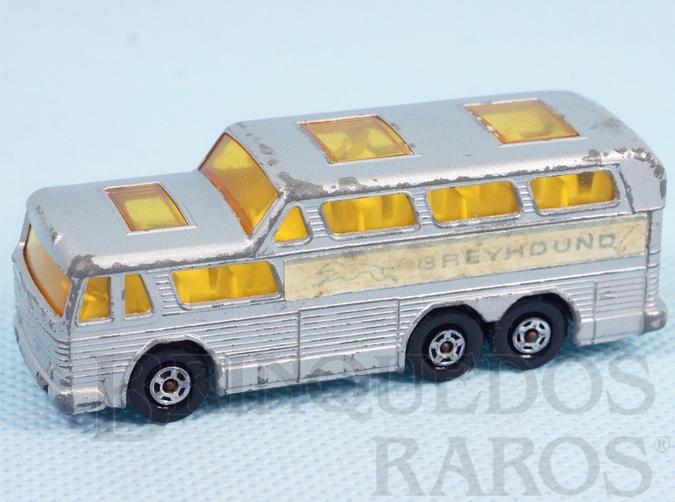 Brinquedo antigo Greyhound Bus Superfast Transitional Weels
