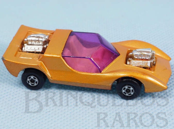 Brinquedo antigo Gruesome Twosome Superfast laranja