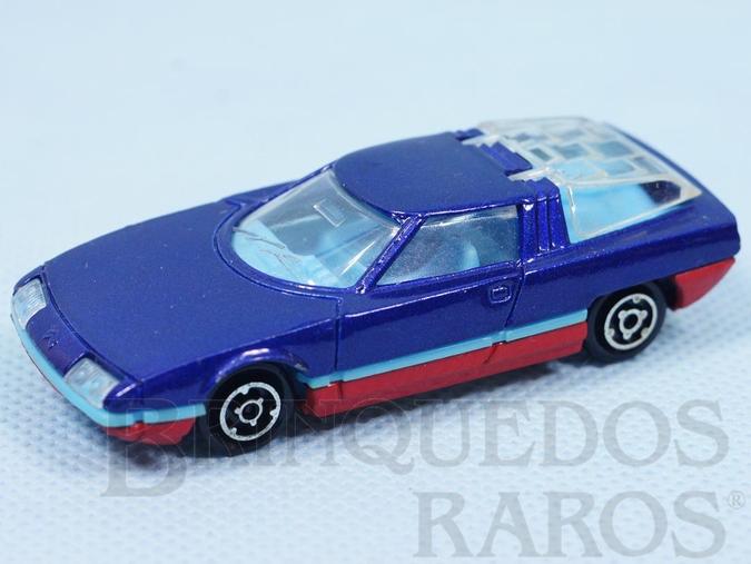 Brinquedo antigo GS Camargue Majorette Brésilien Kiko Década de 1980
