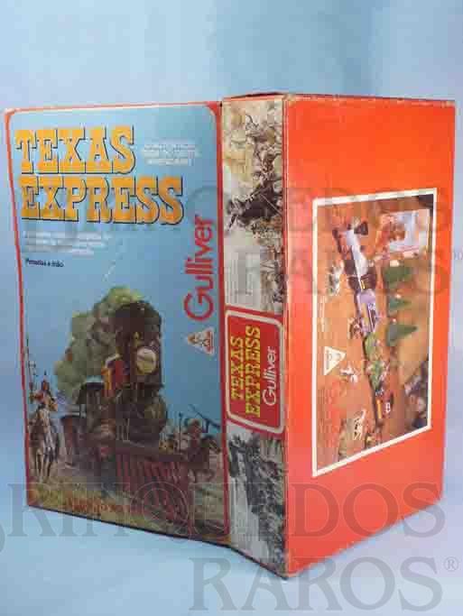 Brinquedo antigo Gulliver Caixa Texas Express Ano 1986