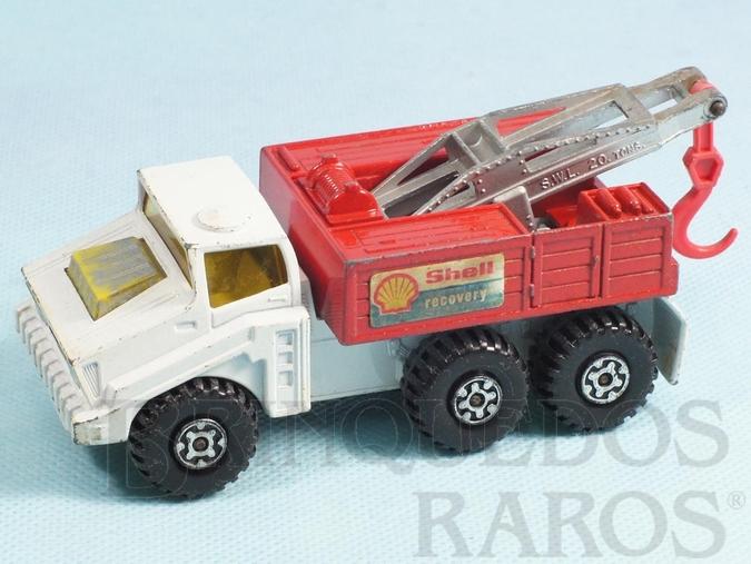 Brinquedo antigo Caminhão Guincho Heavy Breakdown Truck Super Kings Shell