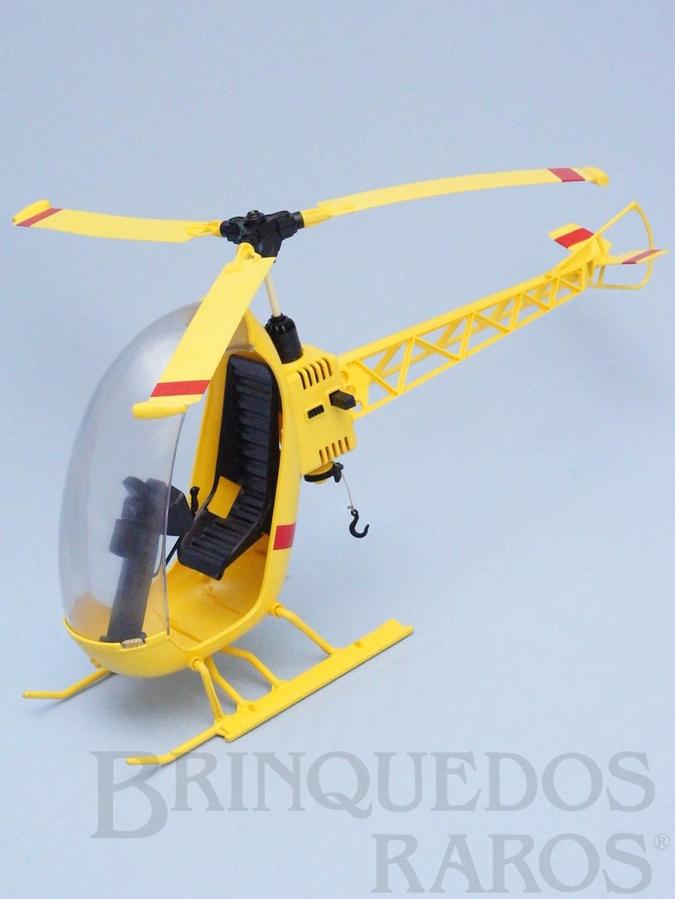 Brinquedo antigo Helicóptero do Falcon completo Perfeito estado Adesivos réplica Edição 1978