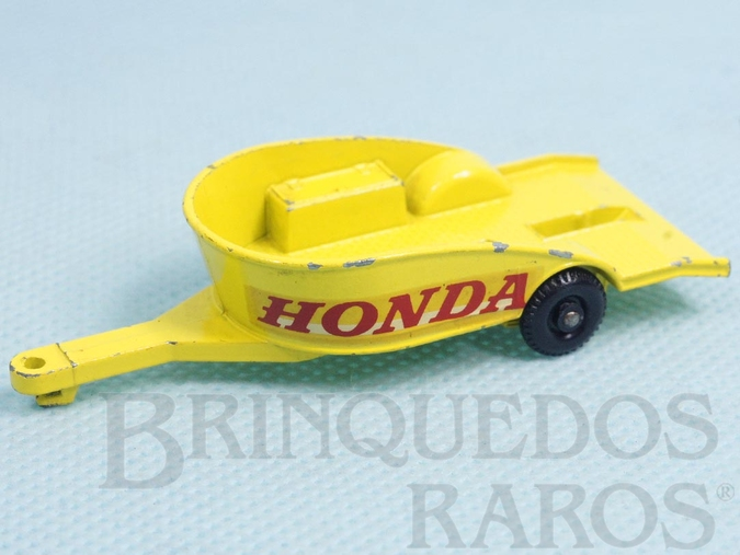 Brinquedo antigo Honda Motorcycle Trailer Regular Weels