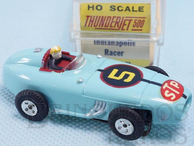 Brinquedo antigo Indianapolis Racer Série Thunder Jet 500 Model Motoring Década de 1960