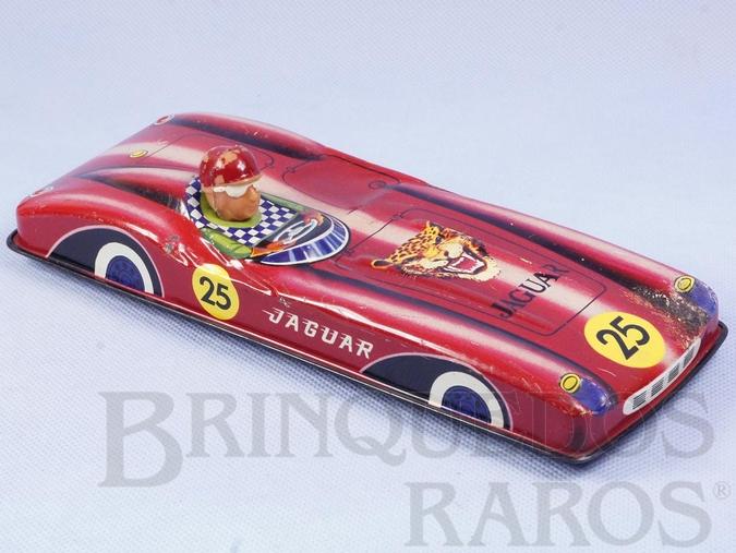 Brinquedo antigo Jaguar com 23,00 cm de comprimento Década de 1970