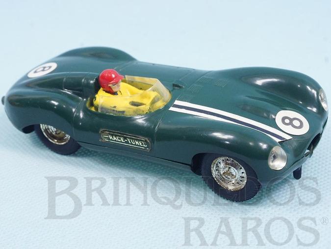 Brinquedo antigo Jaguar D Type C60 Carro matriz do Jaguar Esporte Estrela Perfeito estado 100% original Ano 1963