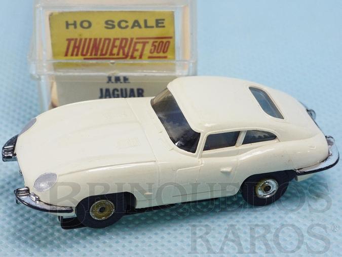 Brinquedo antigo Jaguar XKE Série Thunder Jet 500 Model Motoring Década de 1960