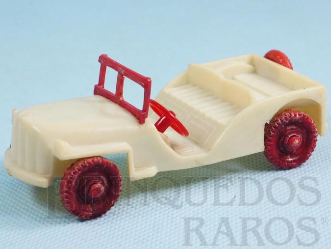 Brinquedo antigo Jeep Willys com 10,00 cm de comprimento Ano 1947