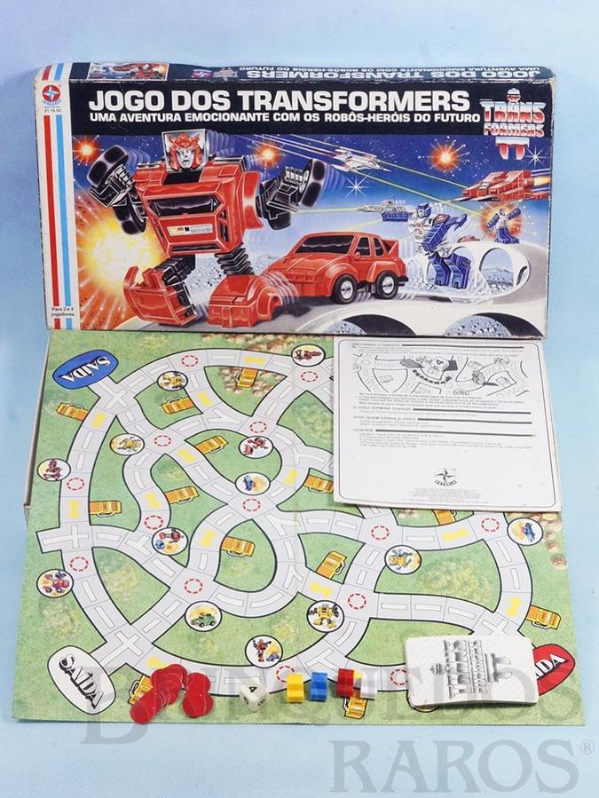 Brinquedo antigo Jogo do Transformers Ano 1986