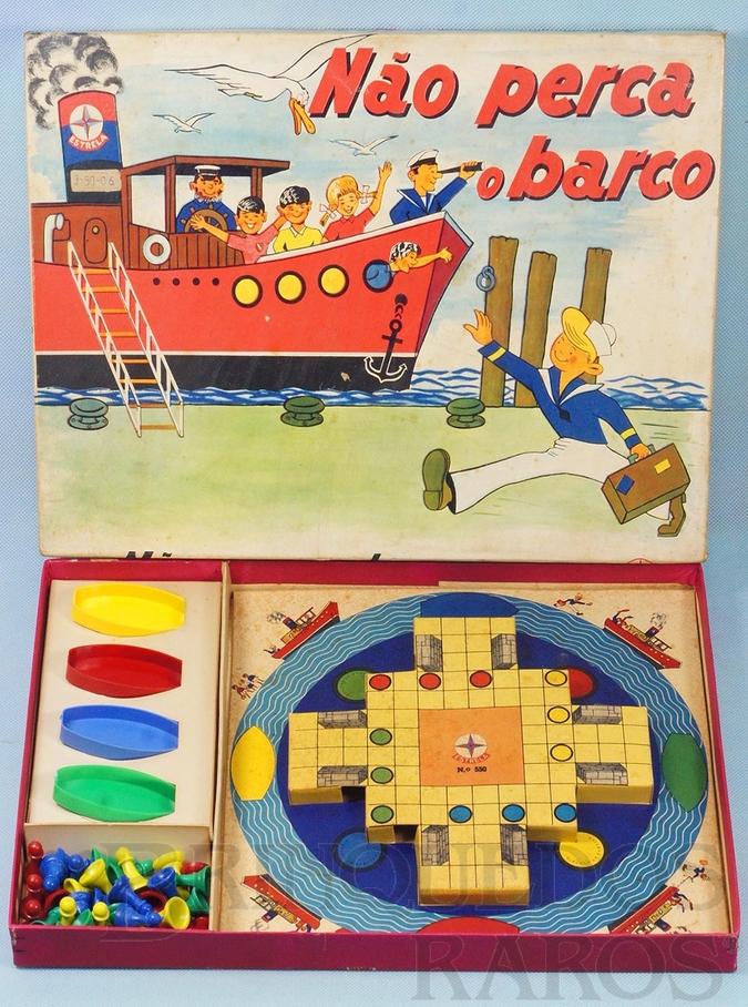 Brinquedo antigo Jogo Não Perca o Barco Década de 1960