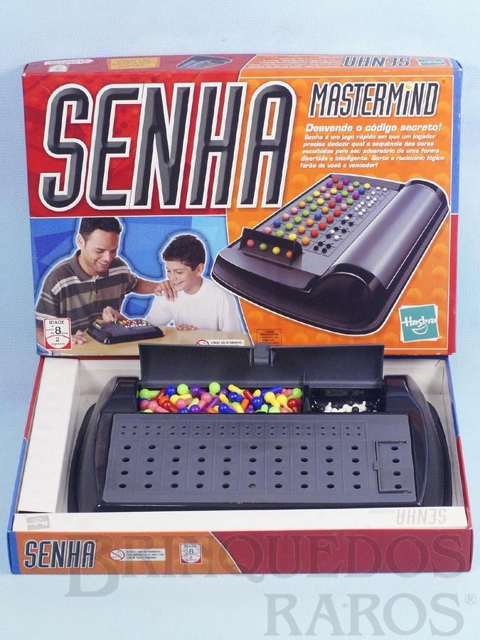 Brinquedo antigo Jogo Senha Mastermind Década de 1990