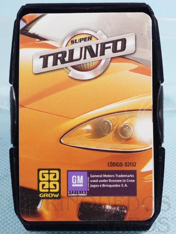 Brinquedo antigo Jogo Super Trunfo GM Oficial Década de 2000
