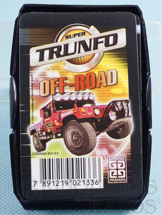 Brinquedo antigo Jogo Super Trunfo Offroad Década de 2000