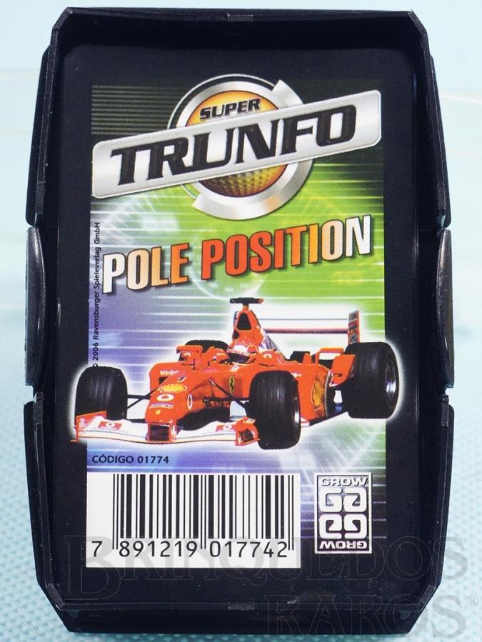 Brinquedo antigo Jogo Super Trunfo Pole Position Década de 2000