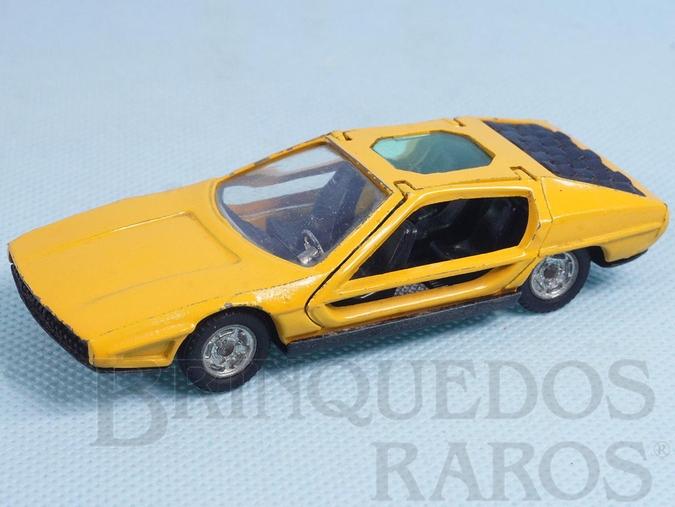 Brinquedo antigo Lamborghini Marzal Bertone Década de 1970