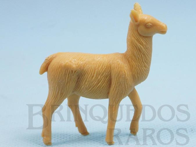 Brinquedo antigo Lhama Série Zoológico década de 1970