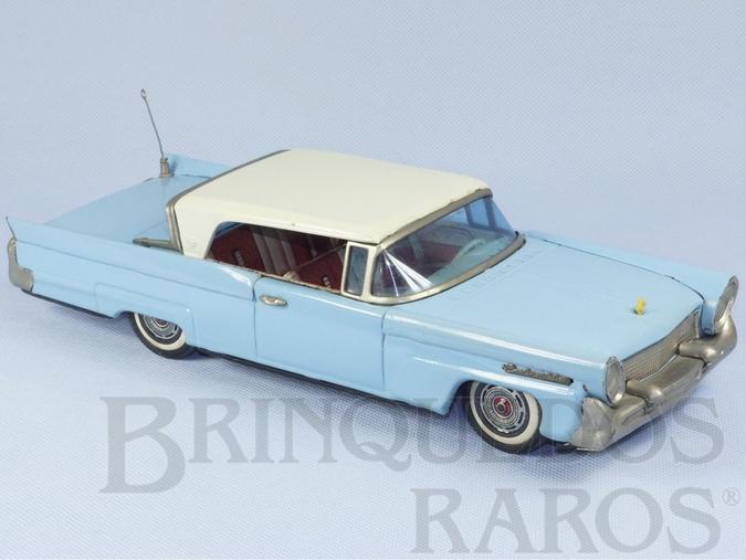 Brinquedo antigo Lincoln Continental com 29,00 cm de comprimento Década de 1960